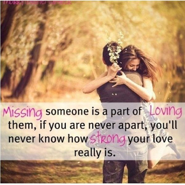 Its so hard to be apart but it does make u stronger ♥