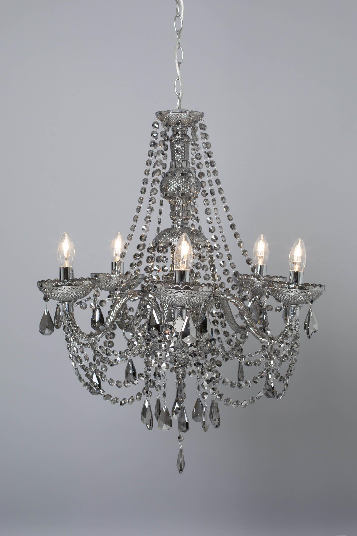 Alexandra smoke chandelier bhs lighting pinterest bhs alexandra smoke chandelier bhs arubaitofo Image collections