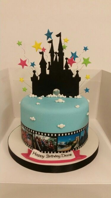 Admirable Florida Orlando Themed Birthday Cake With Images Cupcake Cakes Personalised Birthday Cards Beptaeletsinfo
