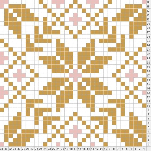 I Think This Fair Isle Knitting Pattern Would Make A Beautiful Quilt