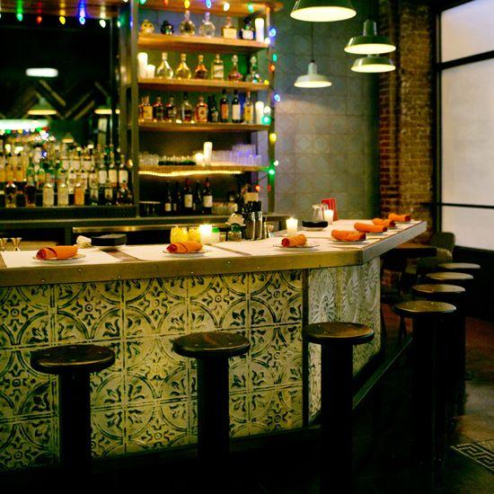 Modern mexican restaurants cantinas restaurante y barra bar for El jardin prohibido restaurante