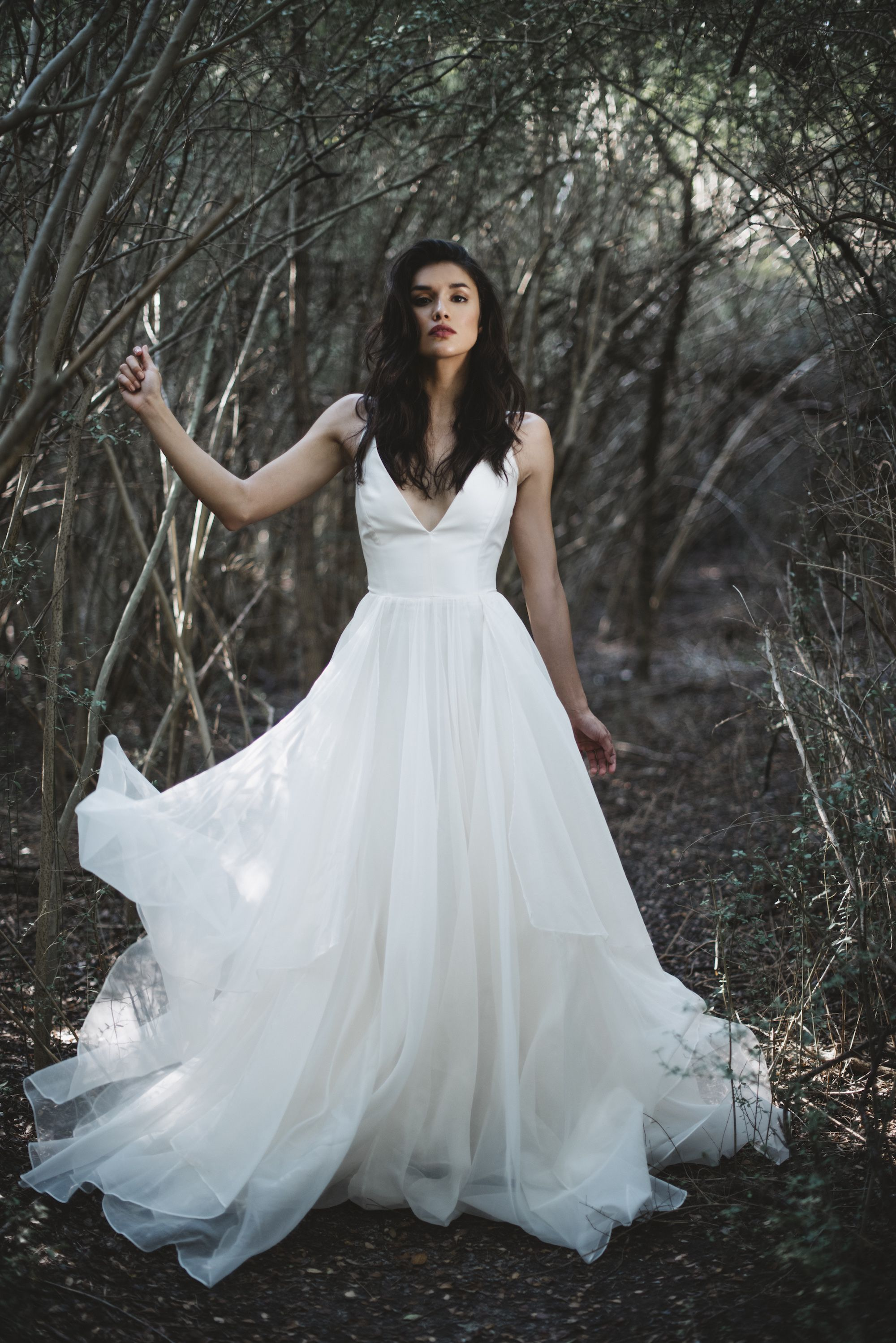 Leanne Marshall S Sophisticated Designs Are Known For Their Light Flowing Lines Feminine Details An With Images Wedding Dresses Wedding Dresses Lace A Line Wedding Dress