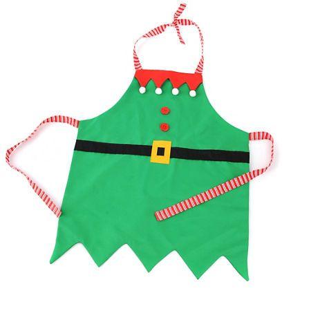 Little Elf Apron & Hat | Kirklands | Sewing | Pinterest