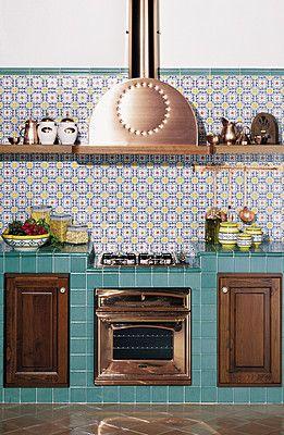 Ceramica Artistica Vietrese nel 2019   Cucine rustiche ...