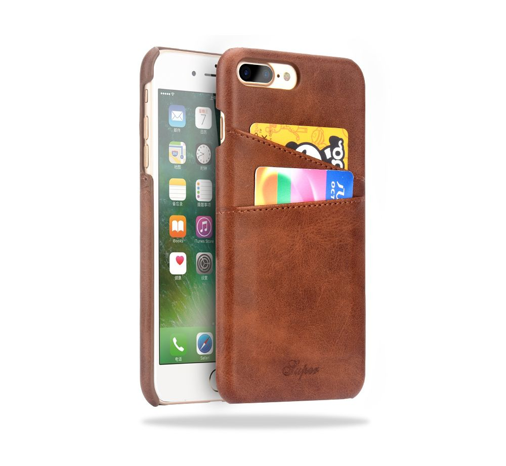 Case for iphone 8 8 plus 7 7 plus cover leather luxury