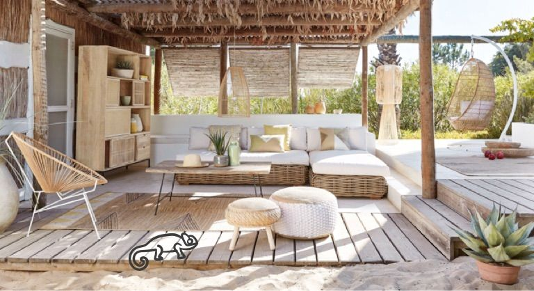 Découvrez les nouveautés de style Bord de mer Maisons du Monde - decoration salle salon maison