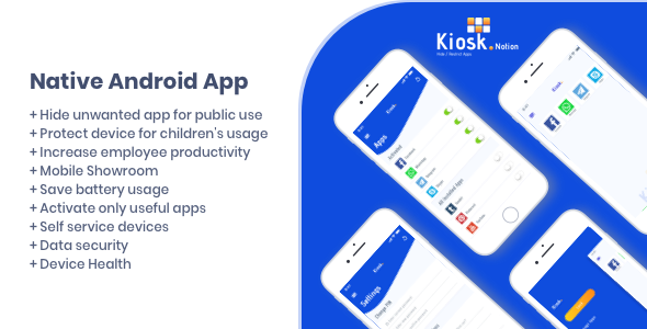 Kiosk Notion Android Native App (With images) App