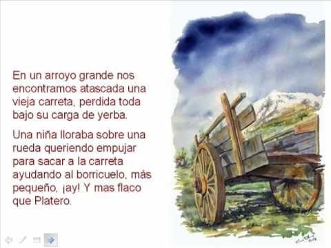 Platero Y Yo Fragmentos Platero Y Yo Literatura Libro Infantil