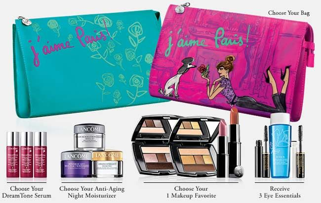 This is Lancome customizable gift now at Dillards. cliniquebonus ...