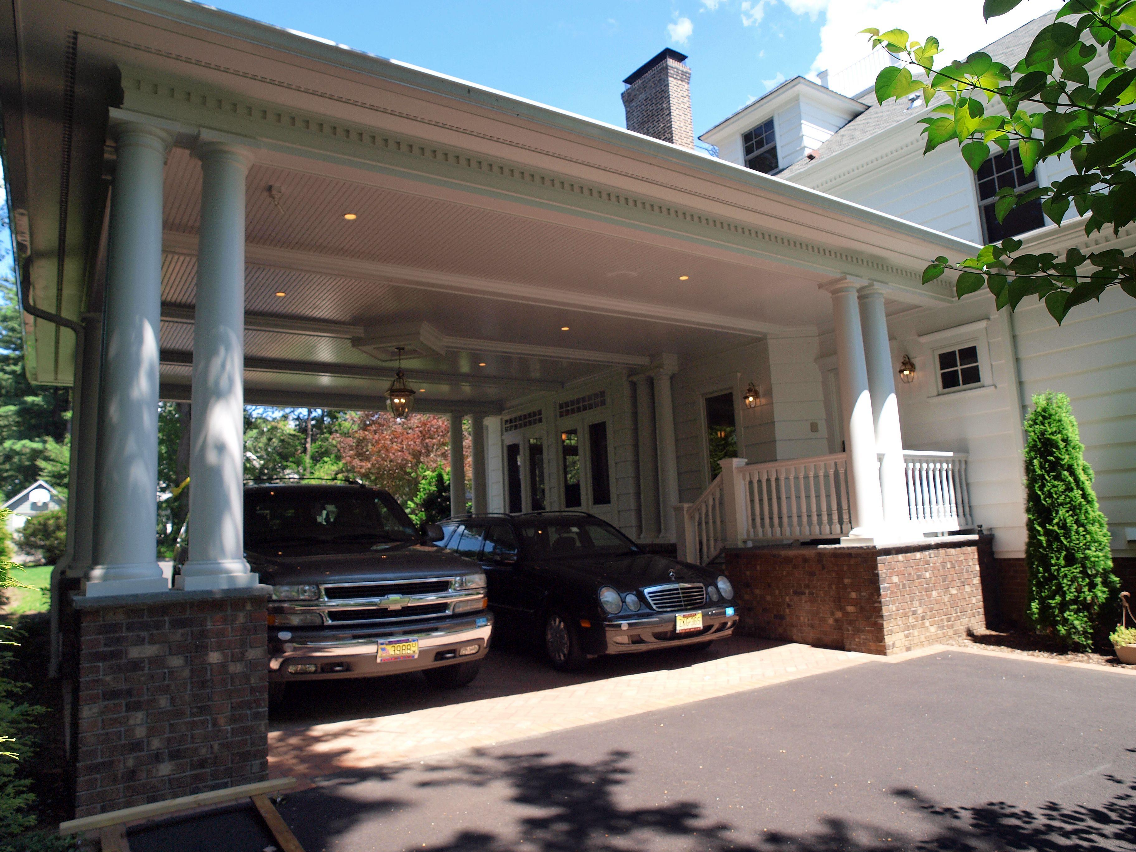 19 Beautiful Porte Cocheres House Plans