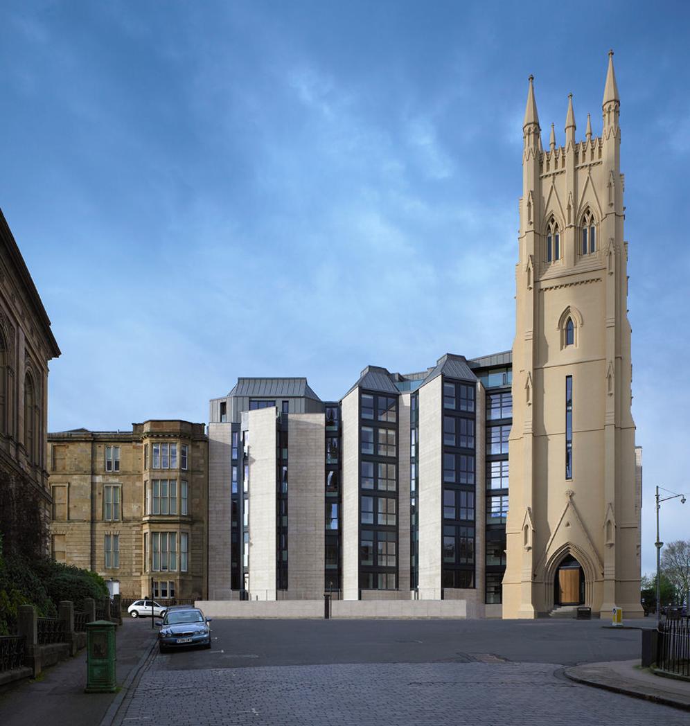 Glasgow Apartments: RMJM(Scotland)-Apartment-3