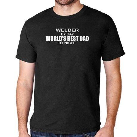 Worlds Best Dad - Welder T-Shirt on CafePress.com  6261d589037c