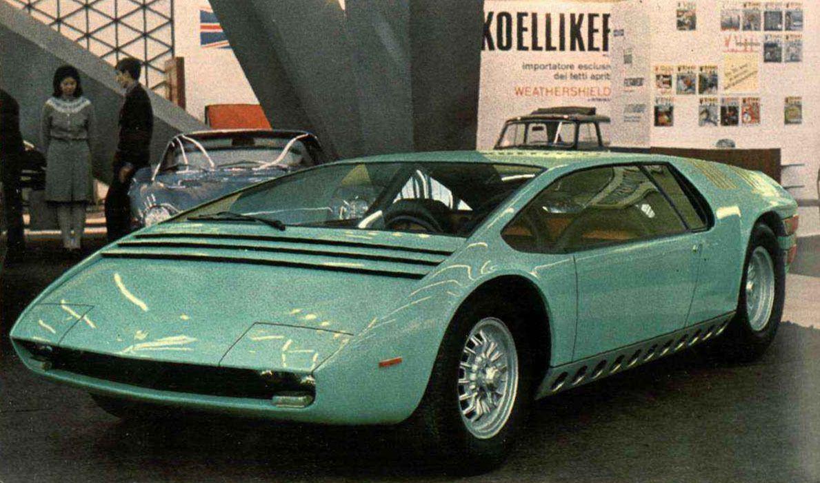 60s 70s Italian Concept Cars Part Ii Italdesign Concept Cars Concept Car Interior Concept Car Design