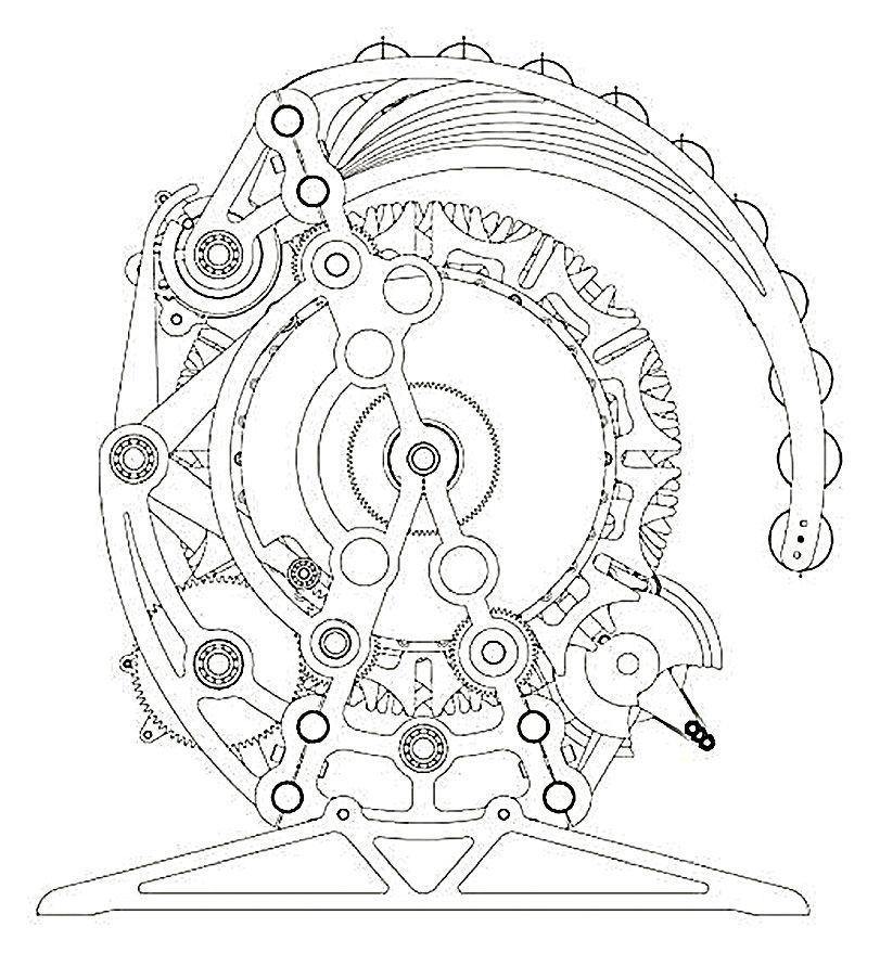 mechanical art drawings