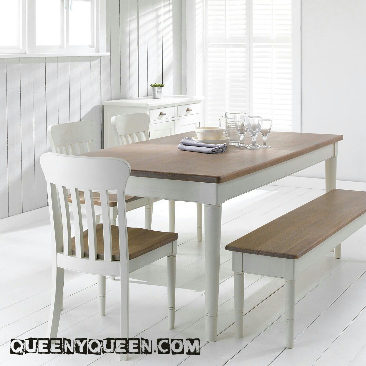 Buy John Lewis Drift Rectangular 6 Seater Dining Table Cream From Our Tables Range At