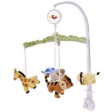 Mobile For Nursery To Go With Jungle Animal Theme Toy Store Baby Nursery Kids House