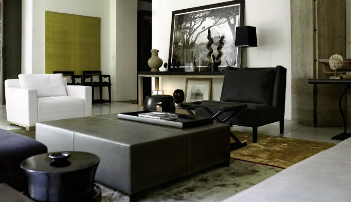 Best interior project by christian liaigre
