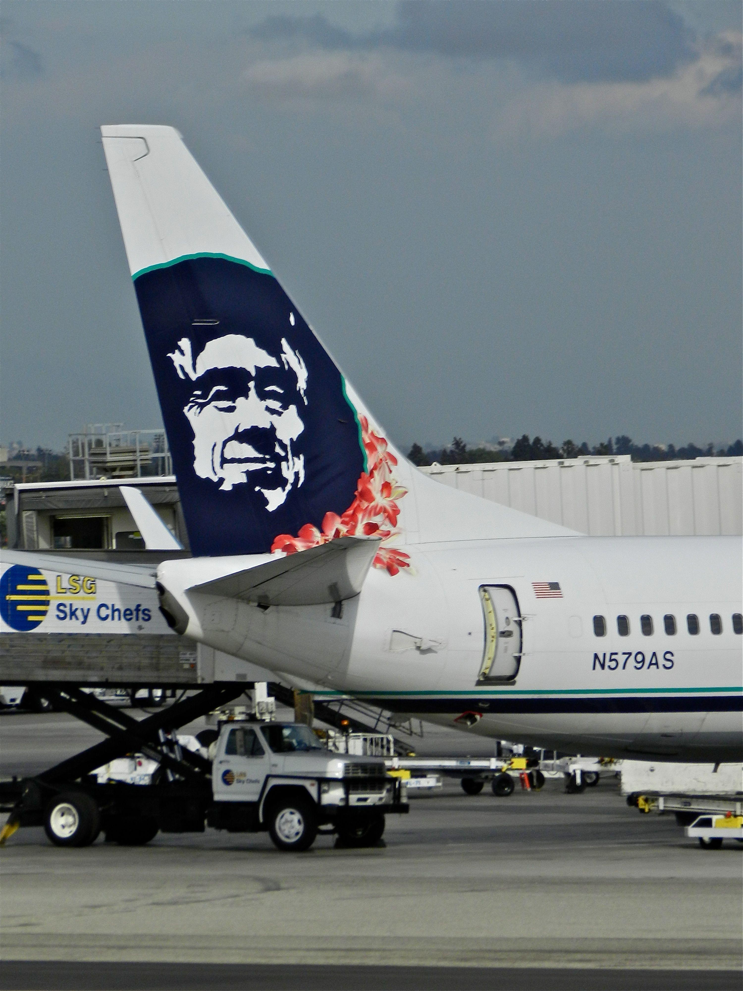 Alaska Airlines Hawaiian Lei Logo Airlines And Flight Attendants