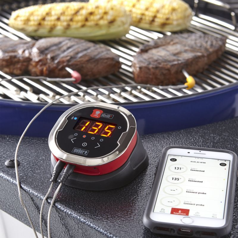 Weber ® iGrill 2 ® Thermometer Cooking temperatures, How