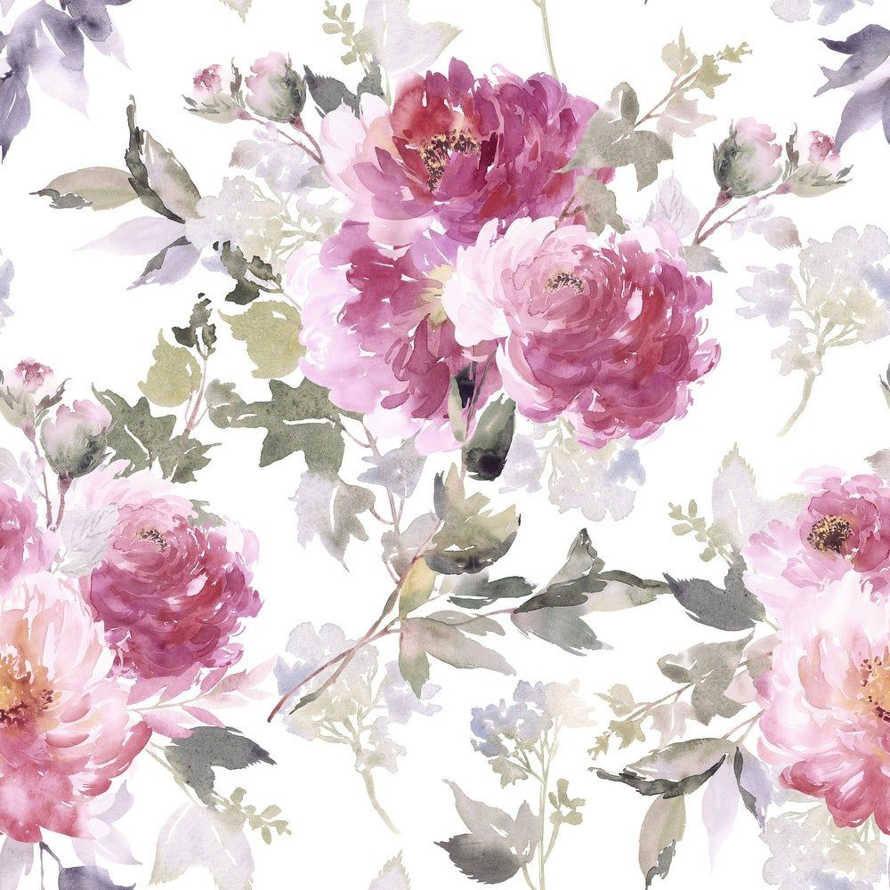 Overstock Com Online Shopping Bedding Furniture Electronics Jewelry Clothing More Abstract Abstract Watercolor Watercolor Peonies