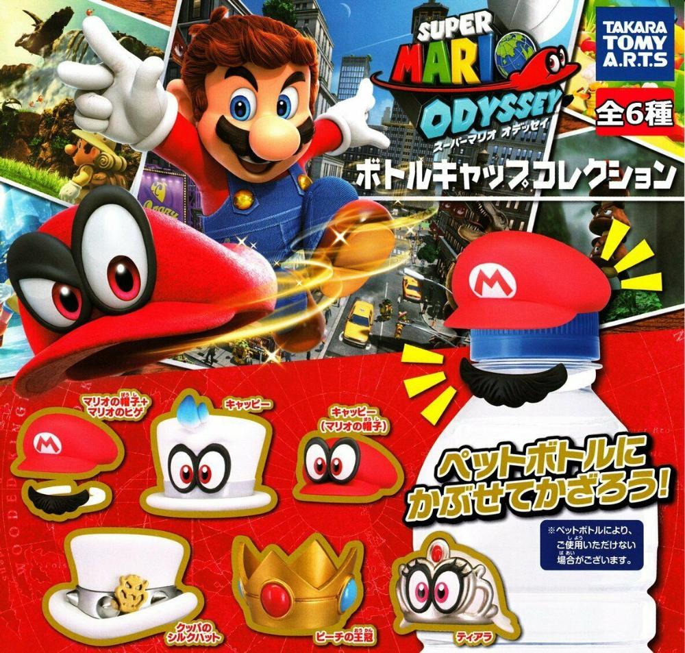 Takaratomy Arts Mario Odyssey Gashapon 6set Mascot Capsule Figures Complete Set Ebay Mario Takara Tomy Mascot