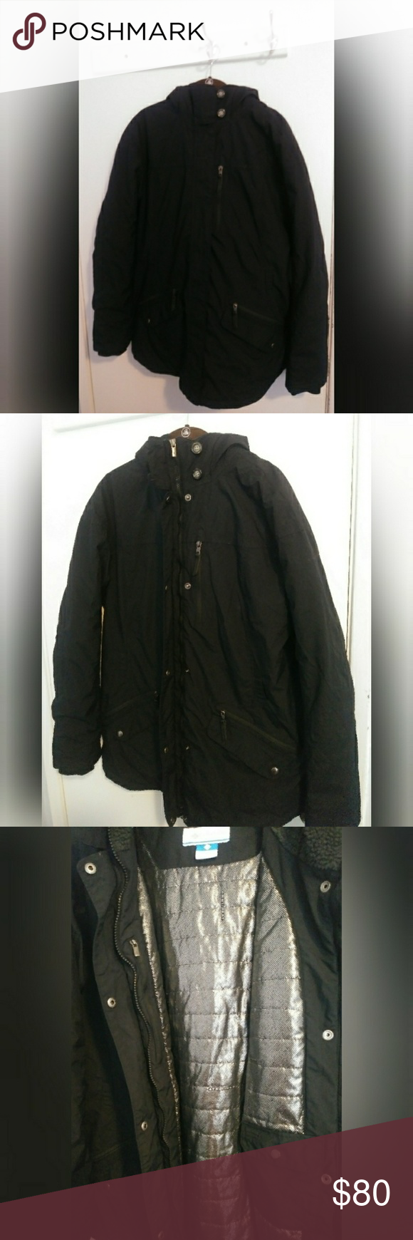 ec8f3eeab4b Columbia Thermal Comfort Omni Shield Jacket Like new condition. 5 pockets  on the front and