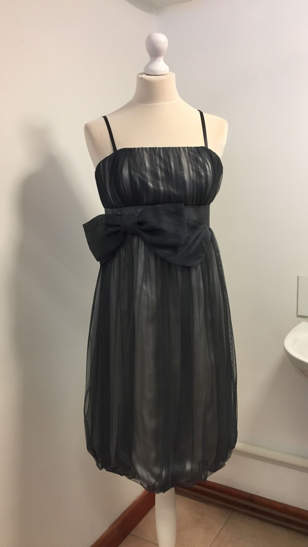 4754f2212e4 Monsoon Grey Bubble Hem Cocktail/Party Dress Size 12   Party Dresses ...