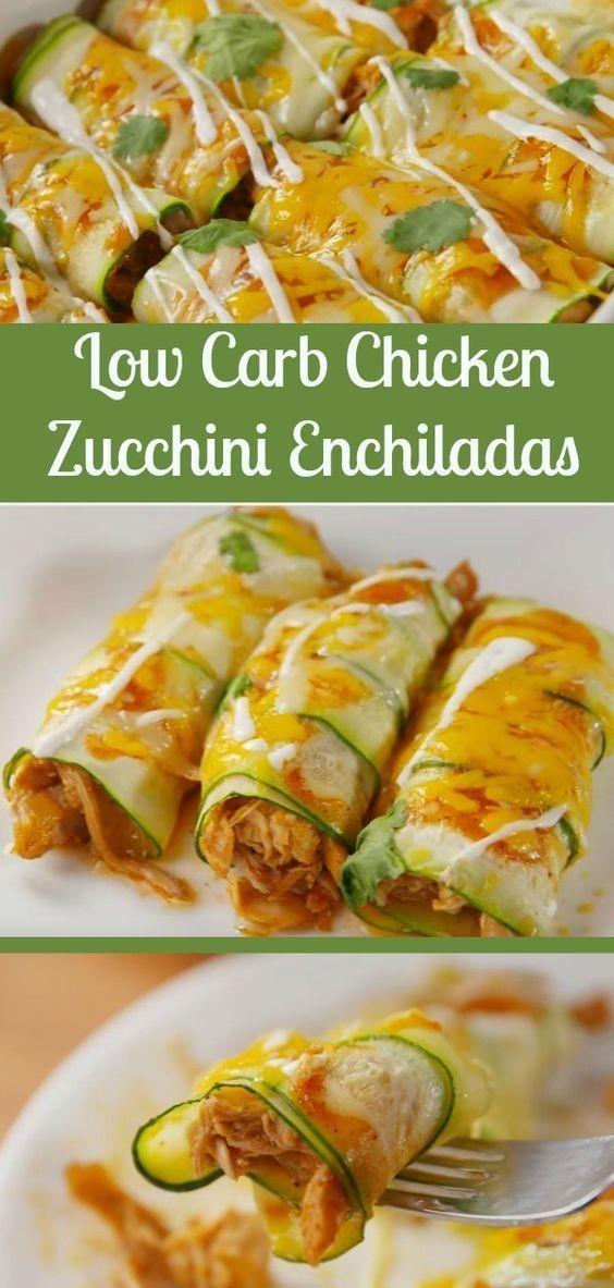 Chicken Zuccini Enchilada's recipe – Keto Snacks Ideas