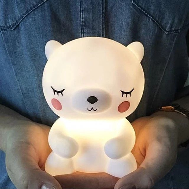 Teddy Night Light This has to be the cutest $night ever! for your little one while he or she falls asleep, this adorable can join them during sleepovers & holidays and it will add a lighted accent piece to decorate their room.