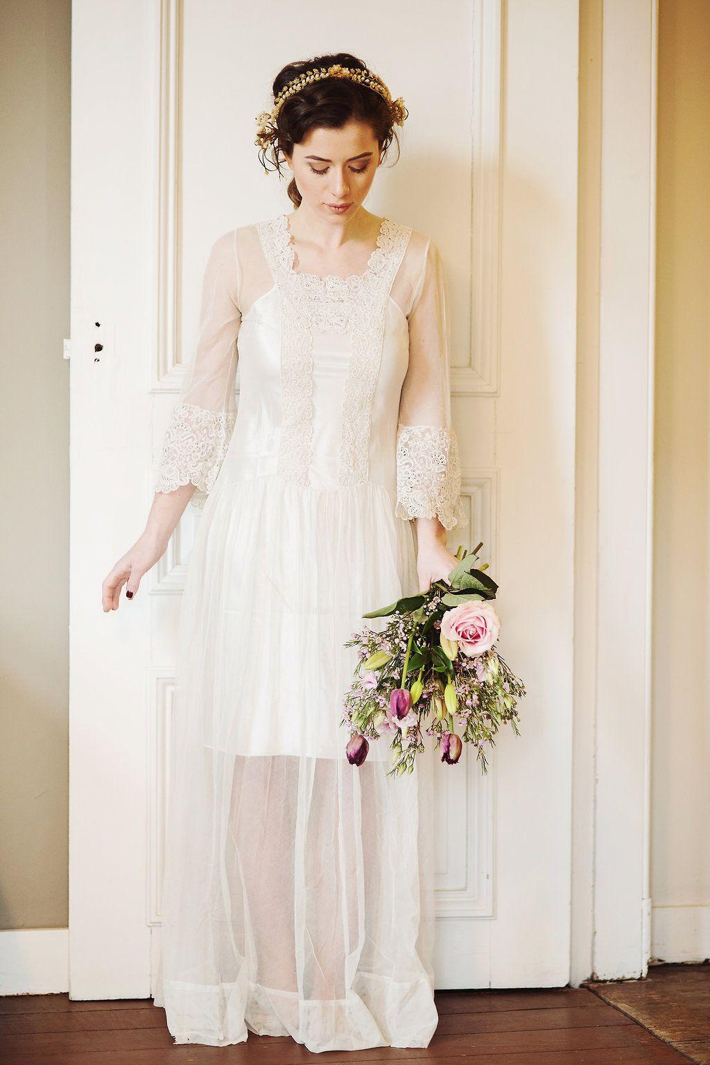 2018 Edwardian Wedding Dress - Wedding Dresses for Fall Check more ...