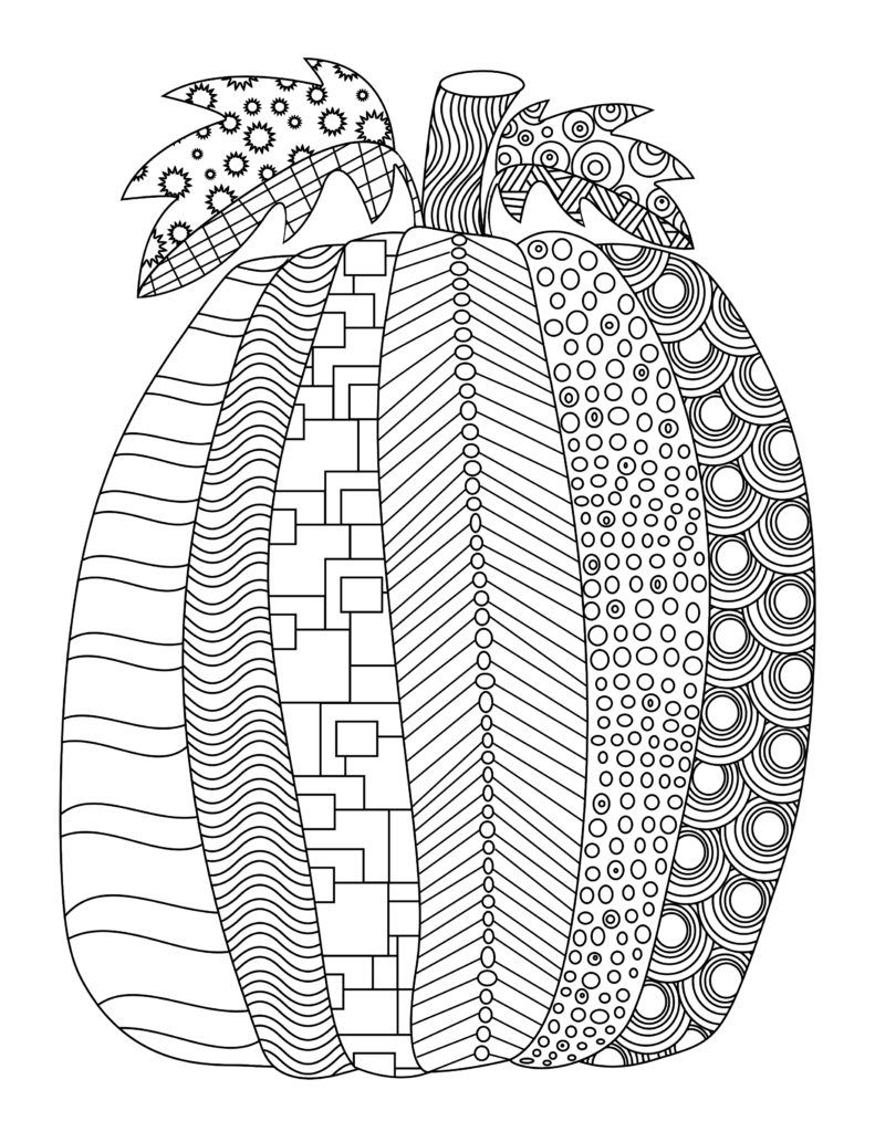 Fall coloring pictures for adults printable - Coloring Pages Picturesque Fall Coloring Pages For Adults Fall Free Printable Adult Coloring Pages Pat