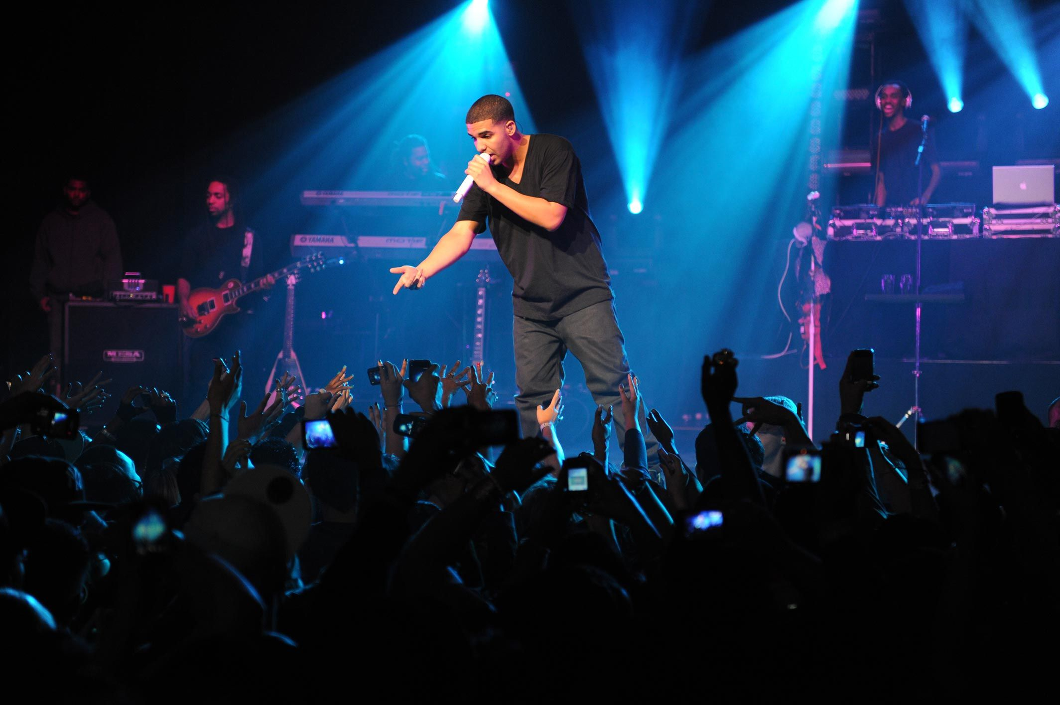 Drake Live The Warfield In San Francisco Photography By