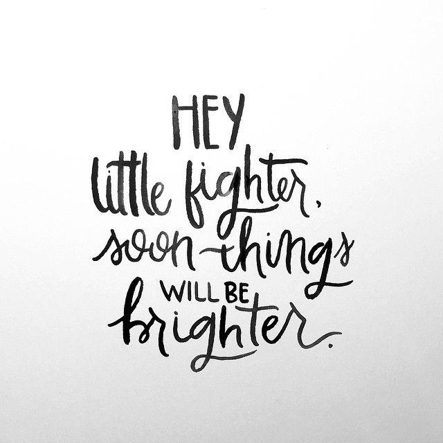 hey little fighter