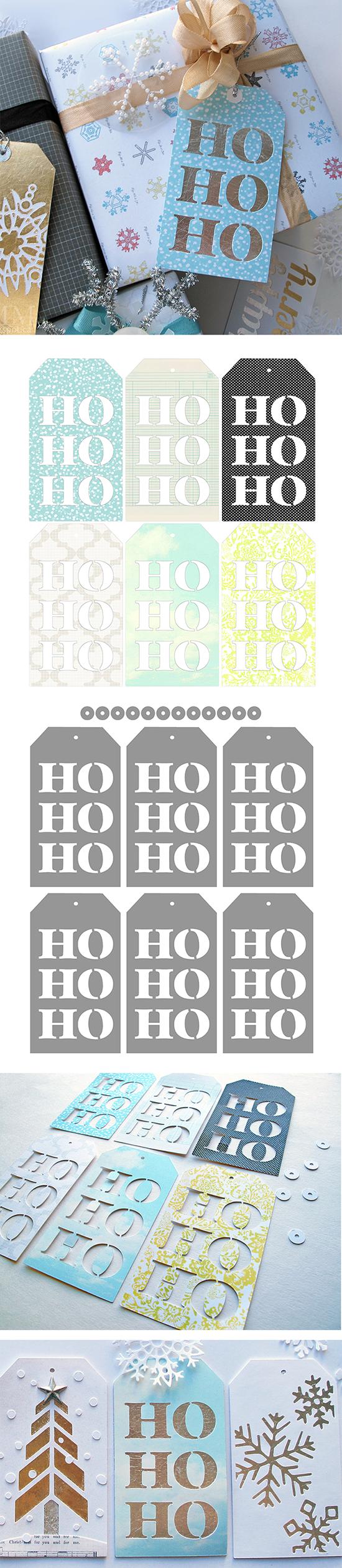 Ho ho holiday printouts to color - Free Ho Ho Ho Christmas Tags Cutting Files Printables Silhouette