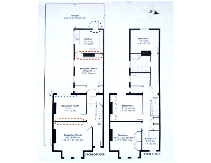 Before And After A London Victorian Transformed Remodelista Victorian House London Victorian Townhouse House Kitchen Plans