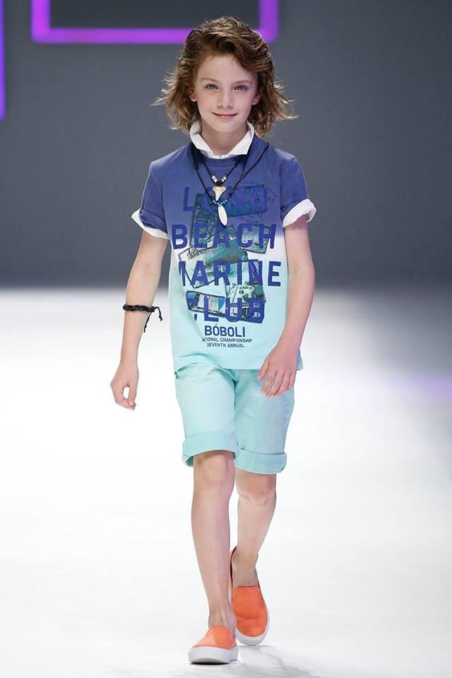 e56fc02b6 Adriel de Sugar Kids para Desfile Bóboli 080 Barcelona Fashion ...