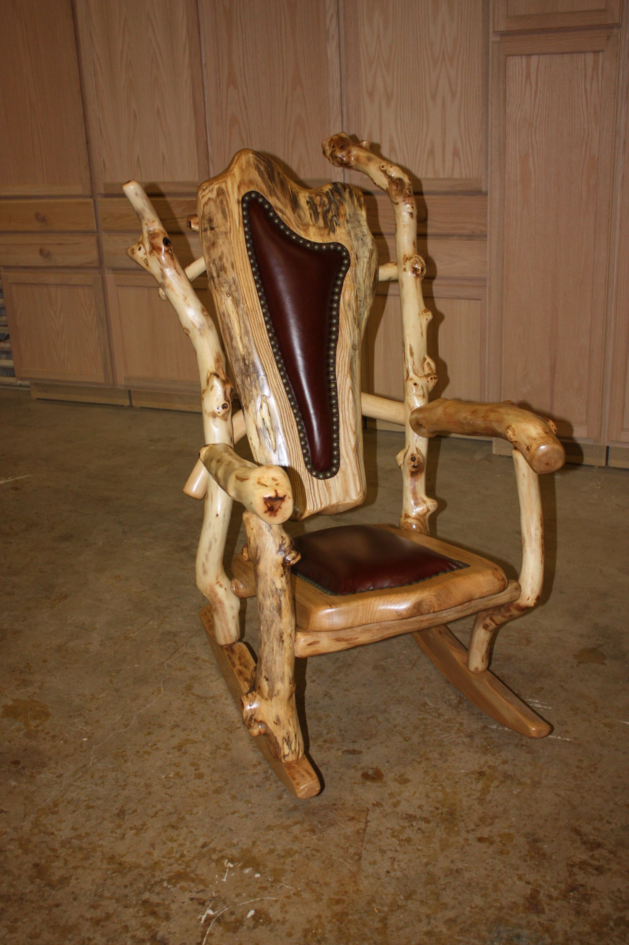 Unique log furniture one awesome chair I good surely see it on the
