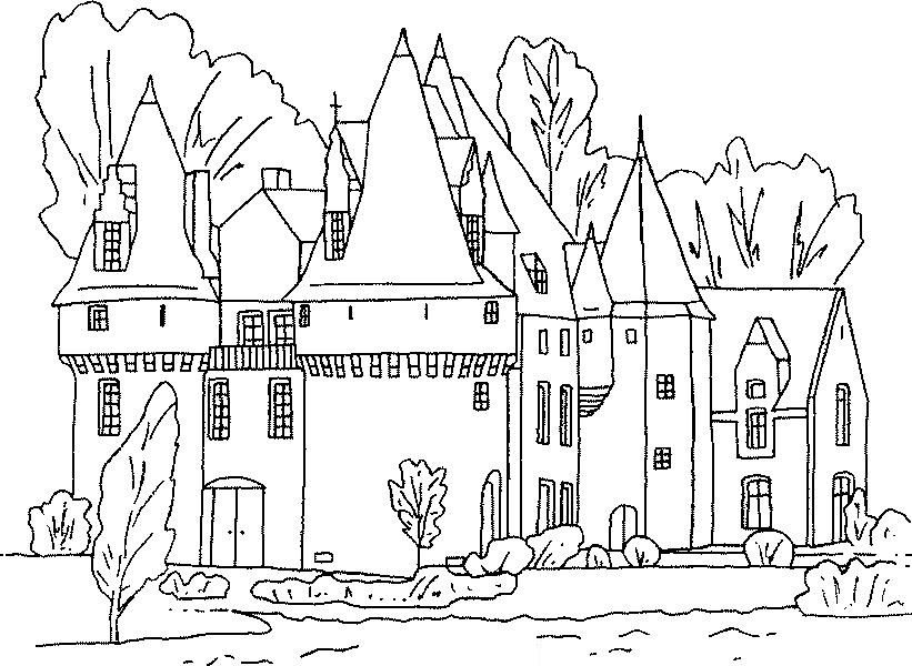 Free Printable Castle Coloring Pages For Kids Castle Coloring Page Coloring Pages Cartoon Coloring Pages