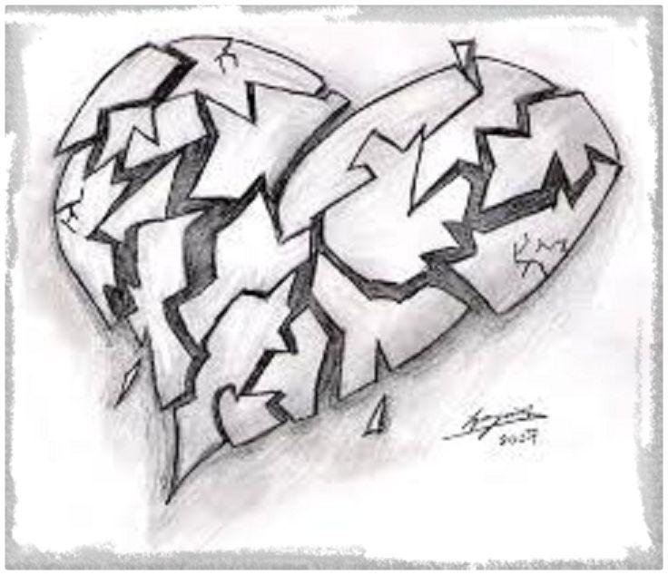 Imagen Relacionada Dibujo Pinterest Dibujos Corazon Roto Y Arte