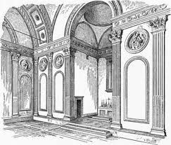 Renaissance Interior Sketch With Images Renaissance Architecture Renaissance Interior Design Drawings