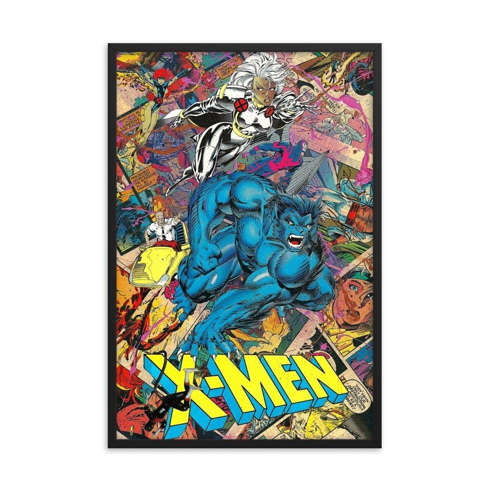 X-Men #1 | Variant 3 |Framed Print - 12×16