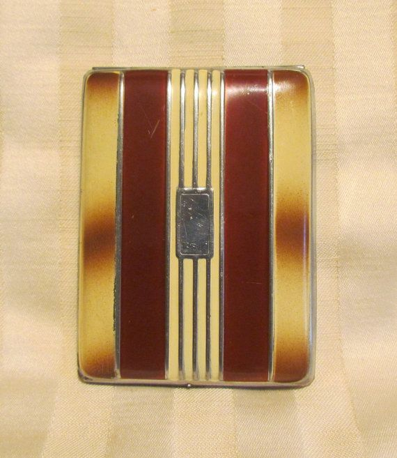 Vintage 1930s cigarette case business card by classiccollector vintage 1930s cigarette case business card by classiccollector colourmoves