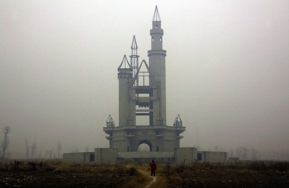WONDERLAND AMUSEMENT PARK OUTSIDE BEIJING, CHINA