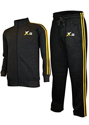4984bc6013a8b SkylineWears Mens Athletic Full Zip Fleece Tracksuit Jogging Sweatsuit  Activewear... X-2 Men s High Quality Athletic Sweatsuit Tracksuit Two  Pieice set made ...