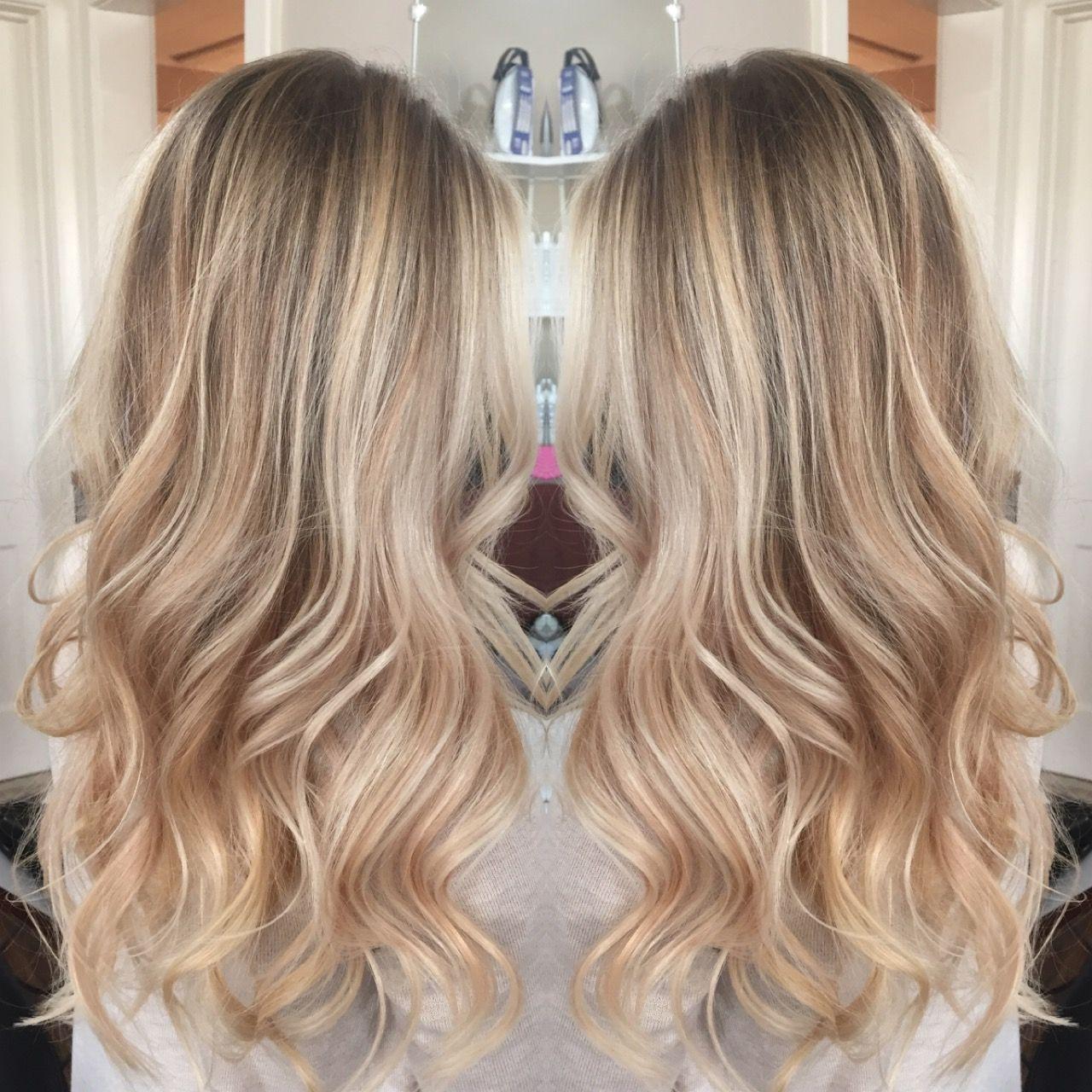 Bronde Blonde Highlights Celebrity Inspired Haircolor Balayage