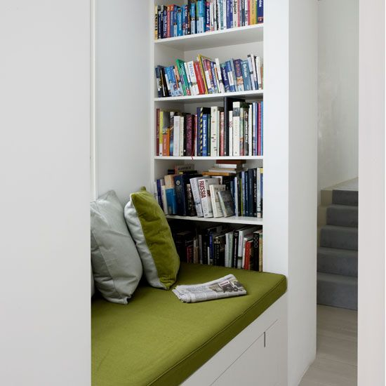 window seat bookshelf built in shelf in reading nook hallway storage storage spaces mudroom bookshelves bookcase wall for the home 2018 pinterest reading