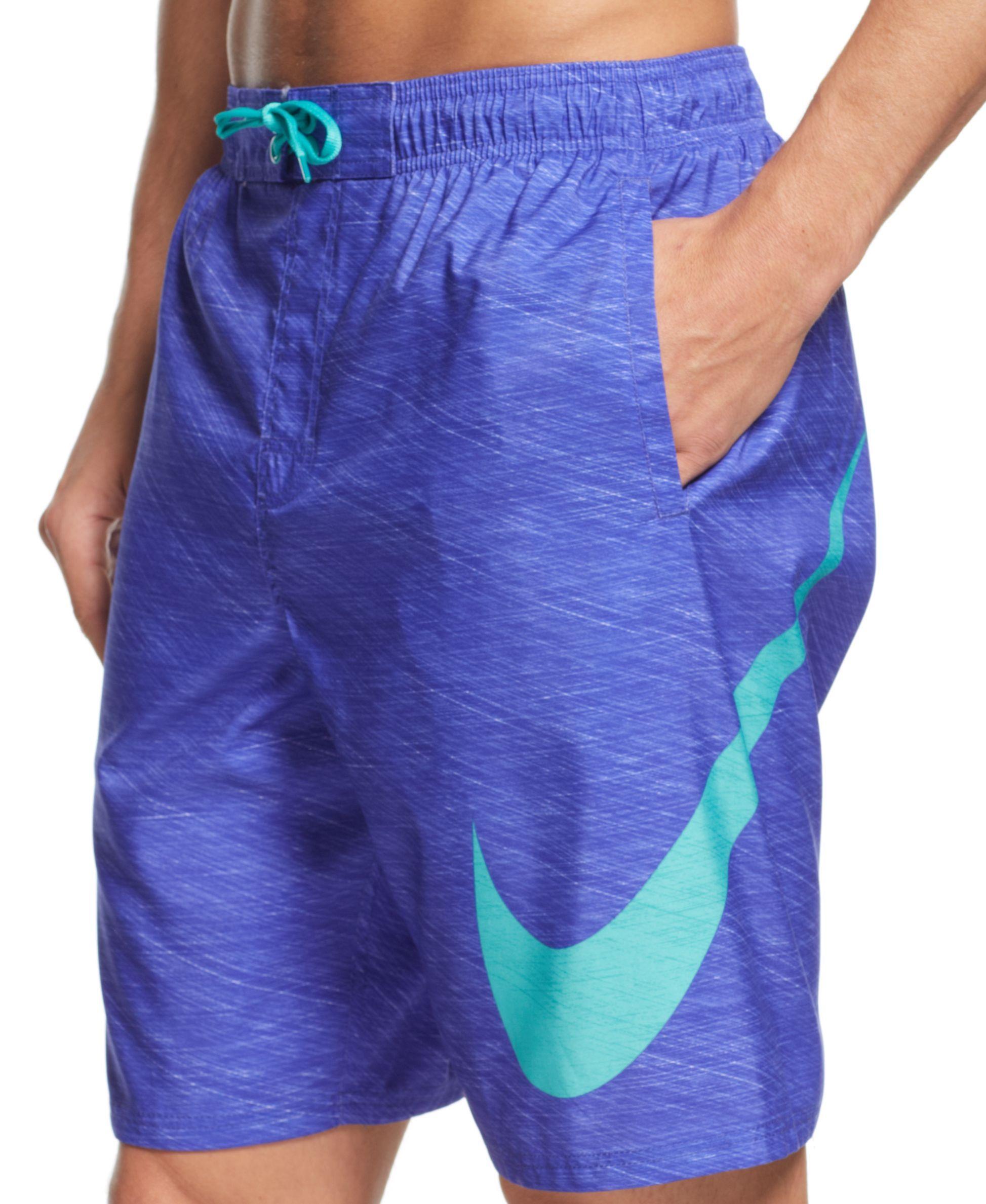 Gorrión Partina City loseta  Nike Hyper Flash 9 Volley Swim Shorts - Swimwear - Men - Macy's   Mens  workout clothes, Swim shorts, Athletic fashion