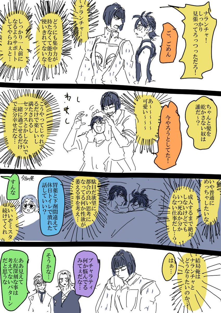 ガライヤ mi bambina さんの漫画 532作目 ツイコミ 仮 ナランチャ ジョジョ 5部 漫画