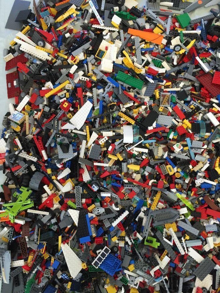 2 LB of LEGO LEGOS PIECES FROM HUGE BULK LOT PARTS @ RANDOM