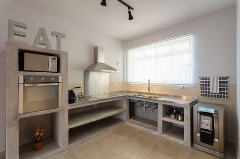 Outdoorküche Deko Dapur : Cozinha com balcão de alvenaria pesquisa google cozinha pinterest